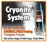 pictures of Cryonite Bed Bugs